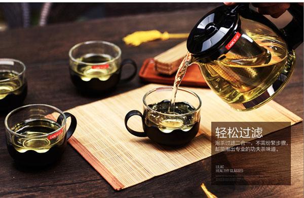 Bán sỉ bộ ấm pha trà thủy tinh có lưới lọc cao cấp