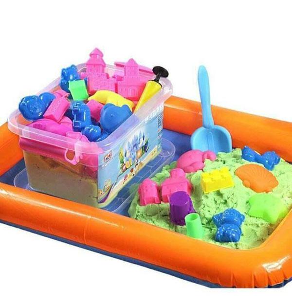 Bộ bể khuôn cát nặn cho bé
