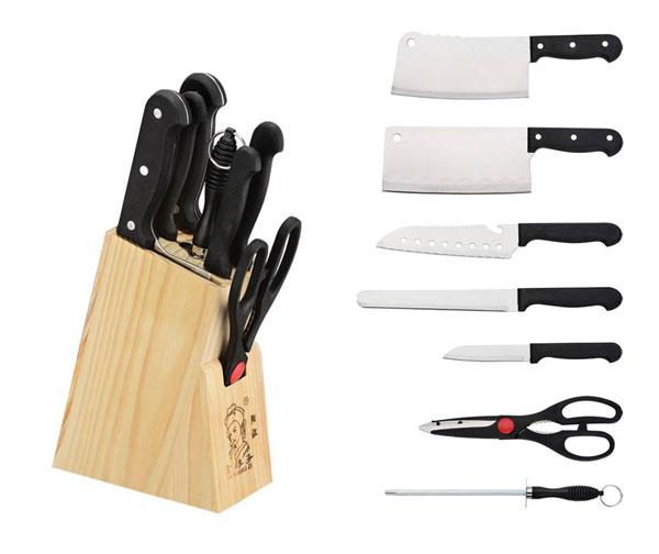 Bộ dao kéo 7 món bằng thép không gỉ