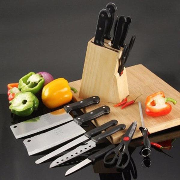 Bán buôn bộ dao kéo 7 món bằng thép không gỉ