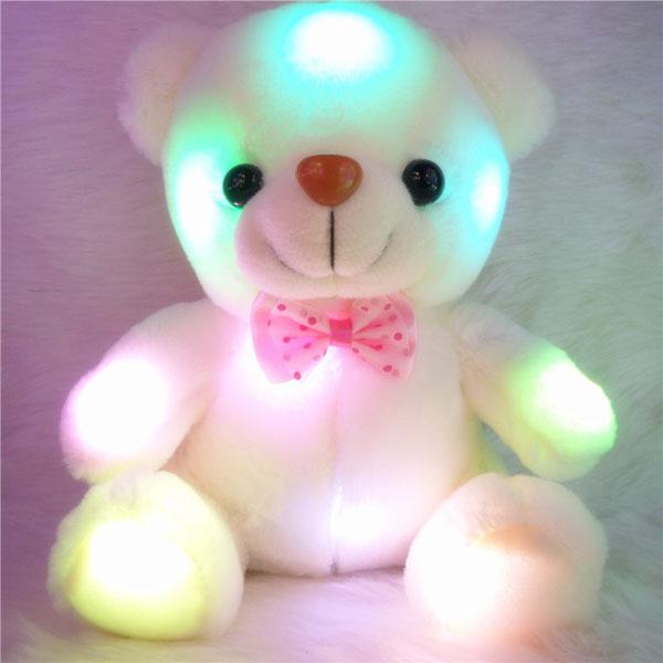 gấu bông phát sáng đổi 7 màu