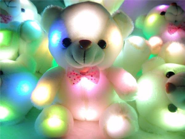 Bán buôn gấu bông phát sáng đổi 7 màu