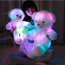 gấu bông phát sáng đổi màu