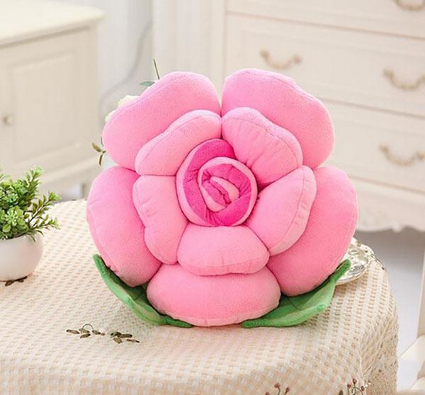 Bán sỉ gối ôm hình hoa hồng giá rẻ