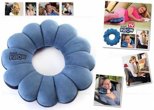 Gối tựa lưng 360 độ ToTal Pillow 5 trong 1