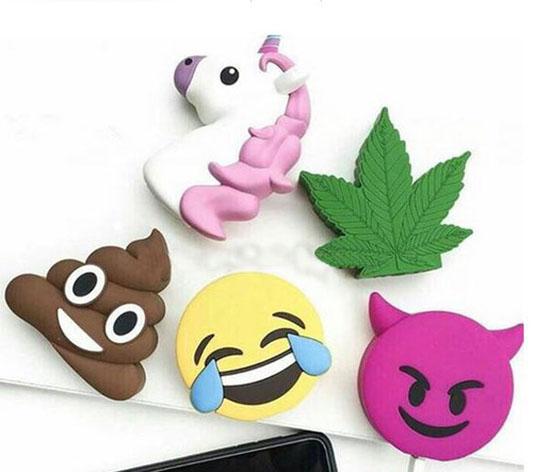 Sạc dự phòng Emoji dễ thương