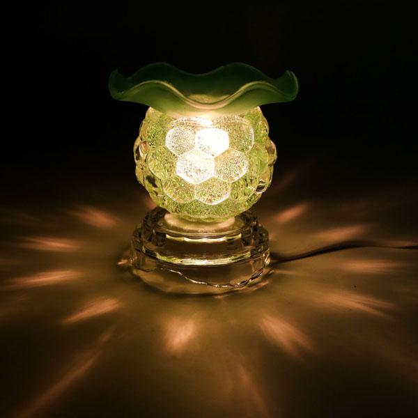 Đèn đốt tinh dầu bằng điện ms02 tiện dụng