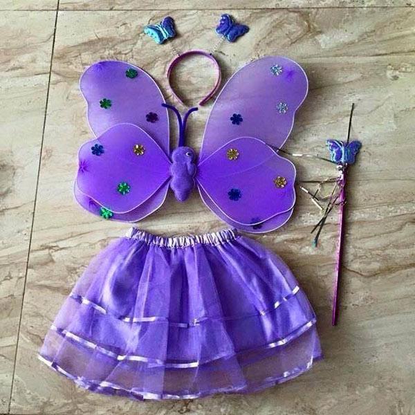 bán sỉ áo cánh bướm thiên thần cho bé