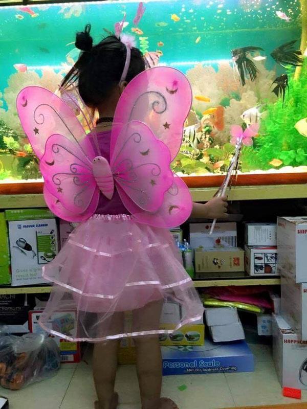 Bán buôn áo cánh bướm thiên thần cho bé