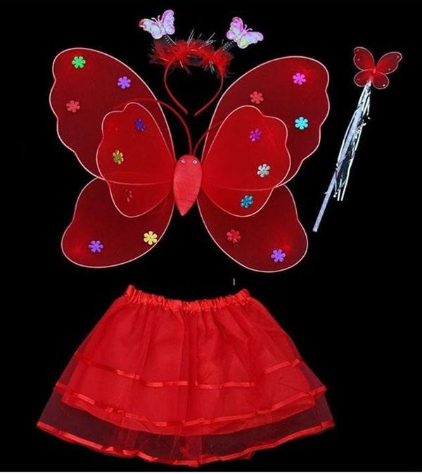 Bán buôn bộ áo cánh bướm thiên thần cho bé