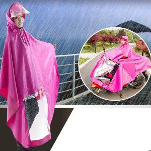 Áo mưa choàng kính có che mặt