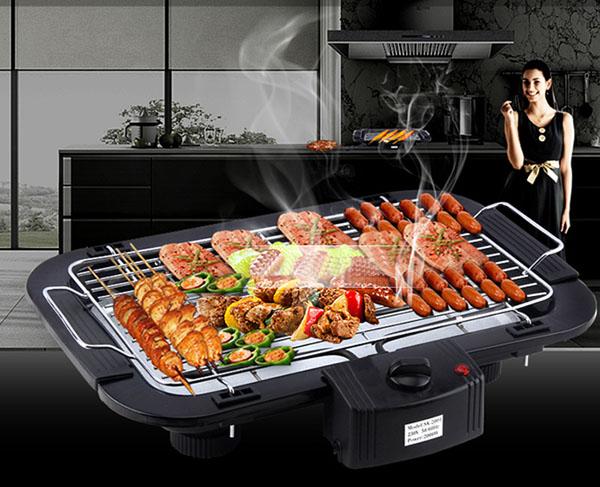 Bán sỉ bếp nướng không khói Electric barbecue grill 2000w
