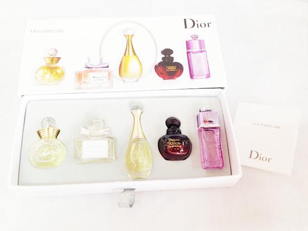 Bán sỉ bộ 5 chai nước hoa Dior cao cấp