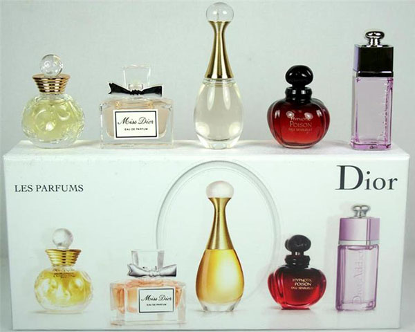 Bán buôn bộ 5 chai nước hoa cao cấp Dior