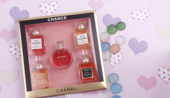 Bộ combo 5 chai nước hoa Chanel cao cấp