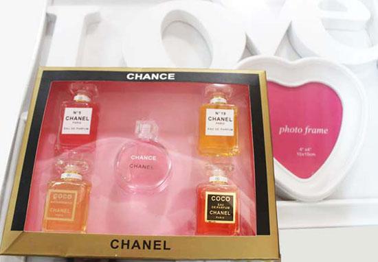 Bán buôn bộ combo 5 chai nước hoa Chanel
