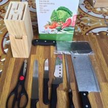 Bộ dao kéo hợp kim inox 7 món