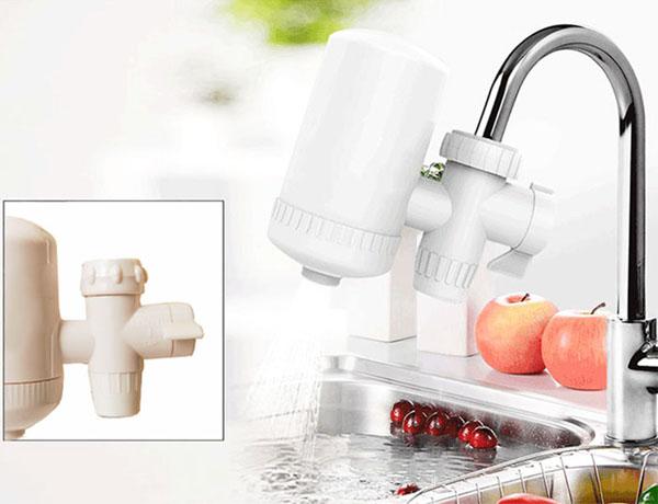 49k - Bộ lọc nước sạch mini tại vòi tiện dụng SWS giá sỉ và lẻ rẻ nhất
