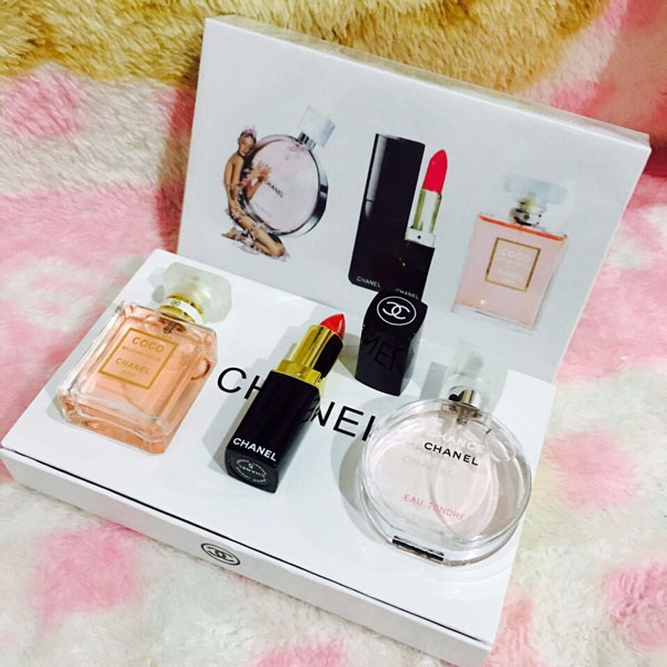 Bộ mỹ phẩm Chanel 3 món cao cấp