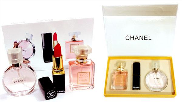 Bán sỉ bộ mỹ phẩm Chanel 3 món
