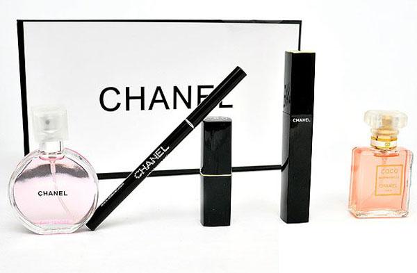 Bán buôn bộ mỹ phẩm Chanel 5 món cao cấp