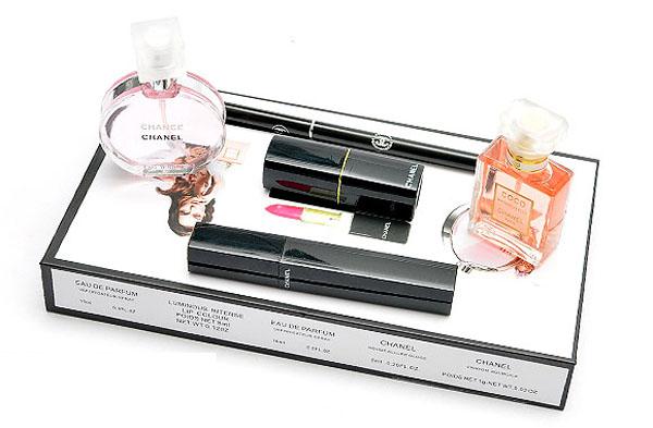 Bán sỉ bộ mỹ phẩm Chanel 5 món cao cấp
