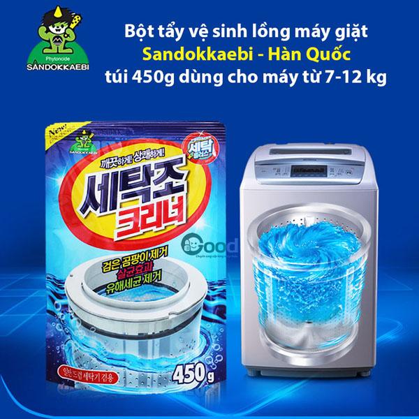 Bán sỉ bột vệ sinh lồng máy giặt Hàn Quốc