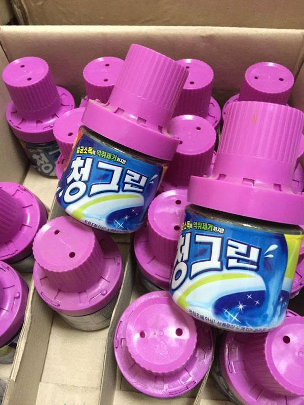 Bán sỉ chai tẩy bồn cầu khử mùi Hàn Quốc