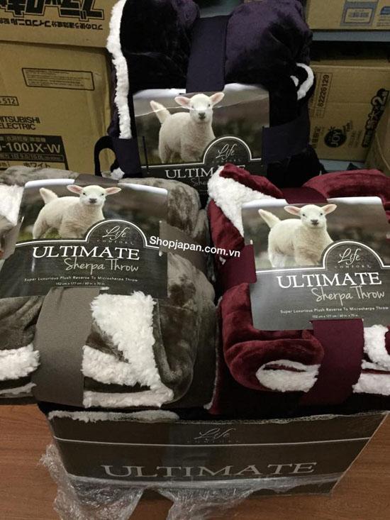 Bán sỉ chăn lông cừu Ultimate