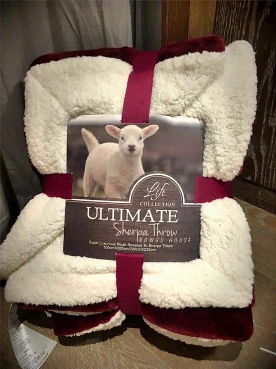 Bán buôn chăn lông cừu Ultimate size 2m x 2m3