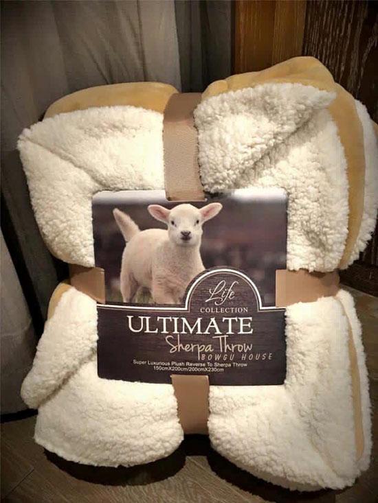 Bán sỉ chăn lông cừu Ultimate size 2m x 2m3