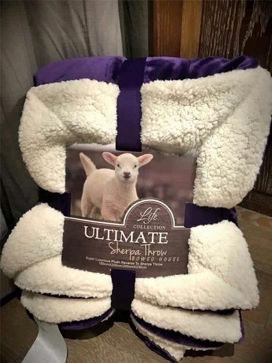 Bán buôn chăn lông cừu Ultimate