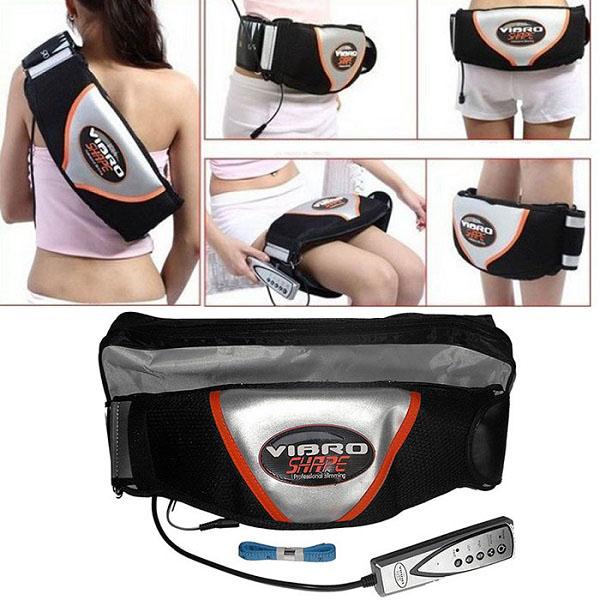 Kết quả hình ảnh cho Đai massage bụng rung và nóng Vibro Shape