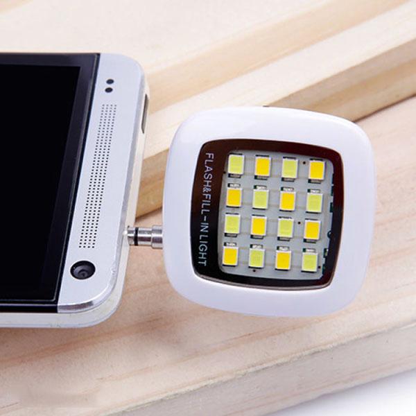 Đèn flash 16 bóng led siêu sáng hỗ trợ chụp hình