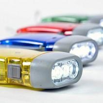 Đèn pin sạc tự động bằng tay siêu sáng