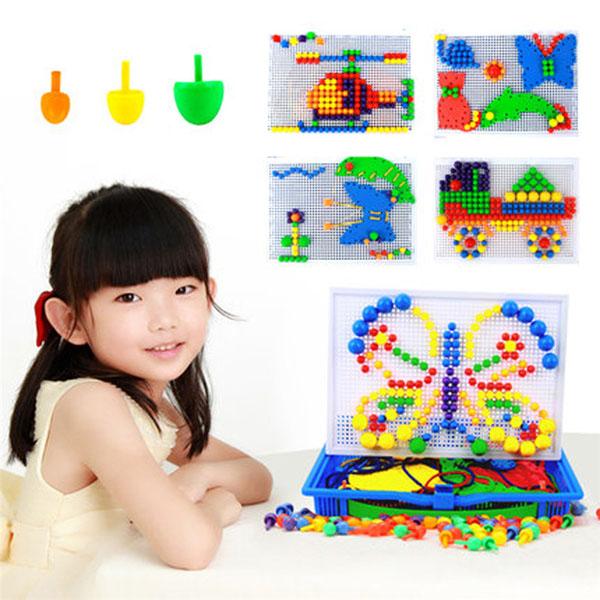 Bán buôn bộ đồ chơi ghép hạt nhựa Creative Mosaic