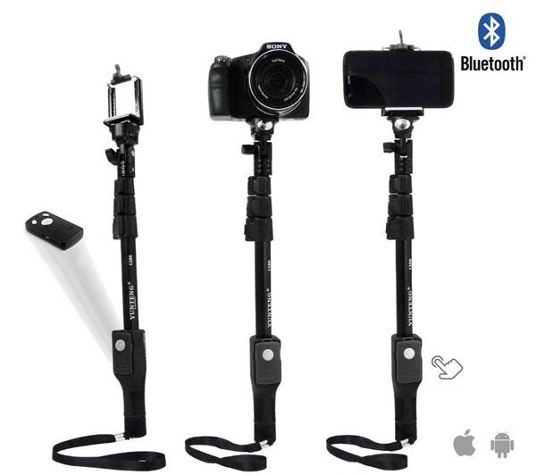Bán buôn gậy chụp hình tự sướng Yunteng YT1288 Bluetooth