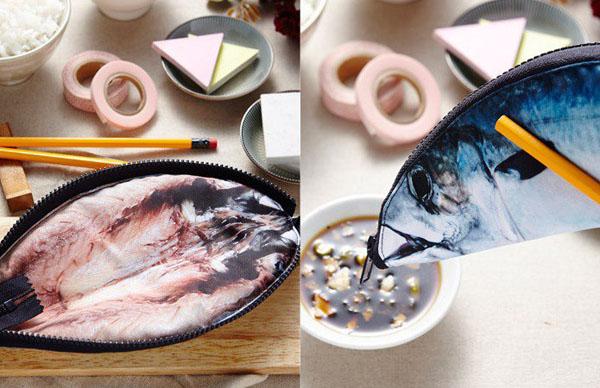 Hộp đựng bút hình cá