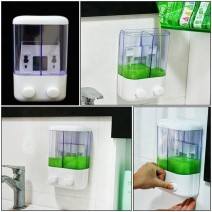 Hộp đựng nước rửa tay loại 2 ngăn tiện dụng