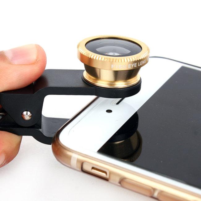 Bán buôn lens chụp ảnh 3 in 1 cho điện thoại
