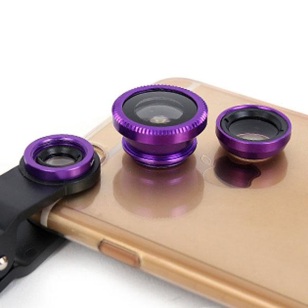 lens chụp ảnh 3 in 1 cho điện thoại