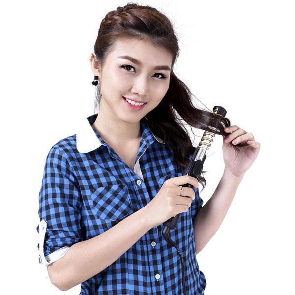 Máy uốn tóc xoắn ốc Kemei KM-1377