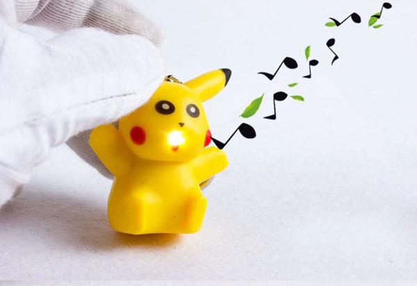 Bán sỉ móc khóa biết nói Pikachu