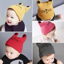 Mũ len tai mèo đáng yêu cho bé