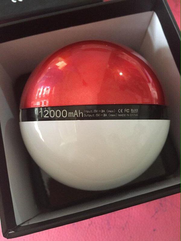 Bán buôn pin dự phòng pokeball 12000 mAh