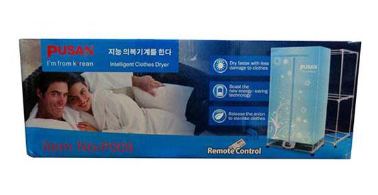 Tủ sấy quần áo Pusan P009 Hàn Quốc