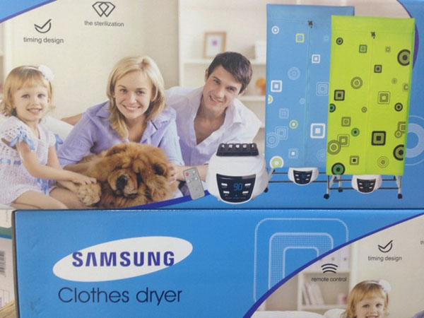 Bán sỉ tủ sấy quần áo Samsung