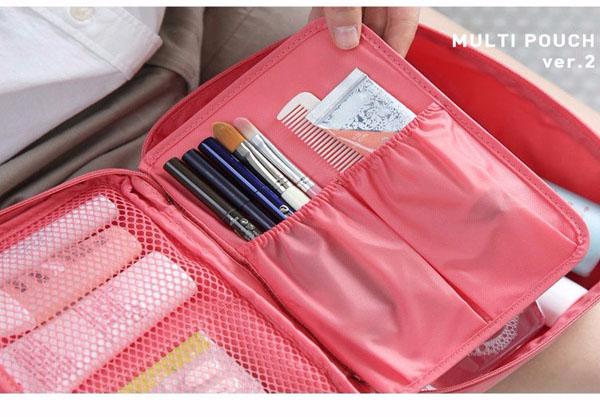 Túi đựng đồ trang điểm du lịch Hàn Quốc