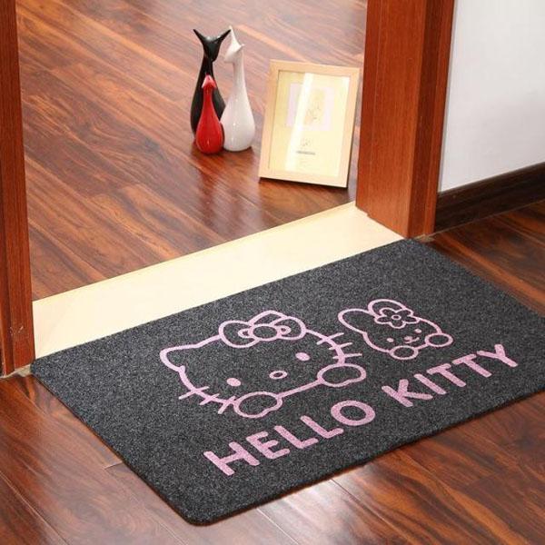 Thảm lau chân hello kitty đáng yêu