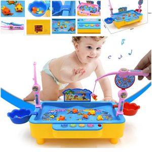 Bể câu cá điện tử cho bé có phát nhạc